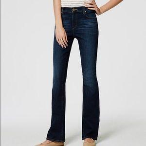 LOFT Modern Bootcut Jeans 0